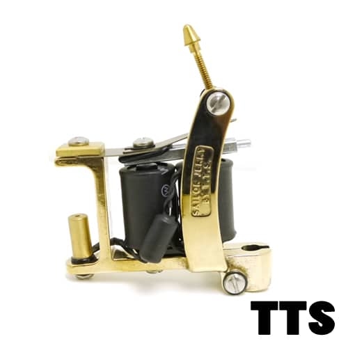 TTS TATTOO MACHINES: BRASS SAILOR JERRY BULLDOG