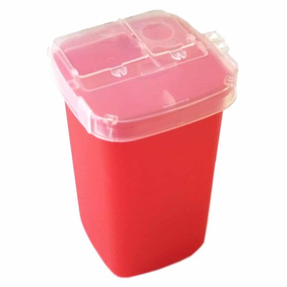 Sharps Container 1 Qt – For Tattoo Waste
