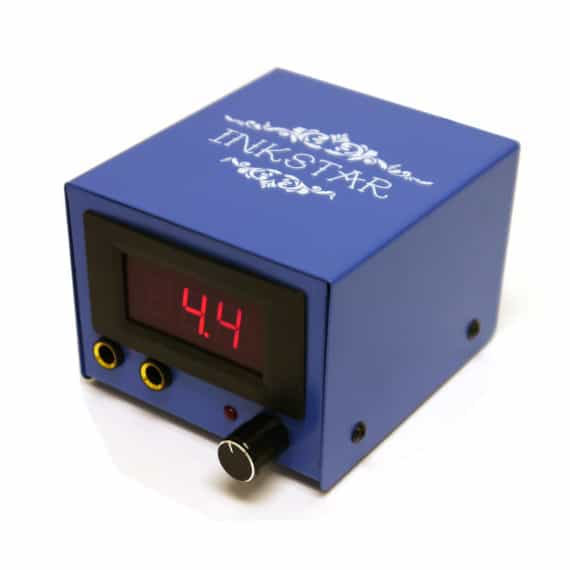 Inkstar Blue Box Tattoo Power Supply