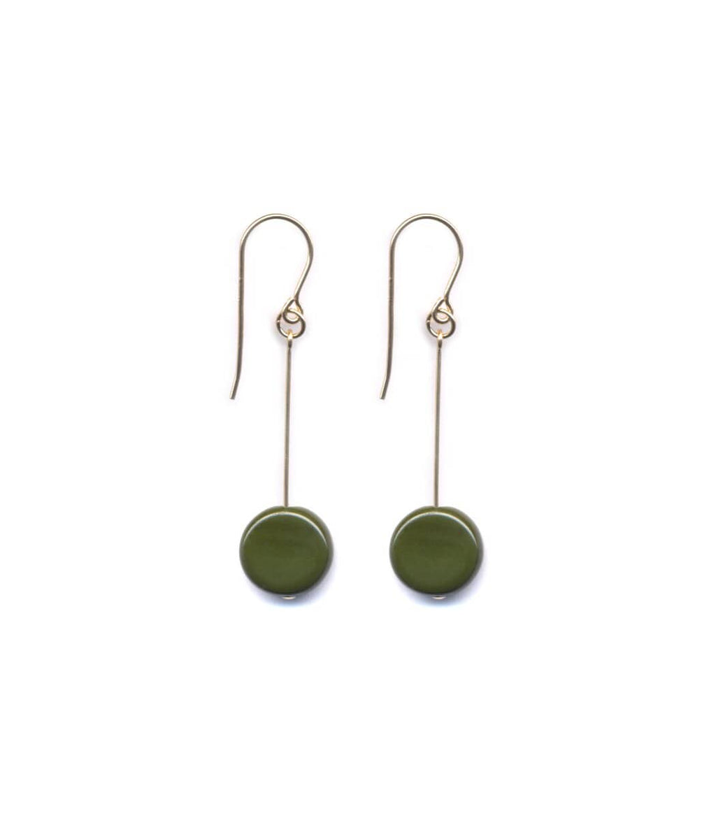 Irk Jewelry I. Ronni Kappos E1307 Forest Circle Drop Earrings