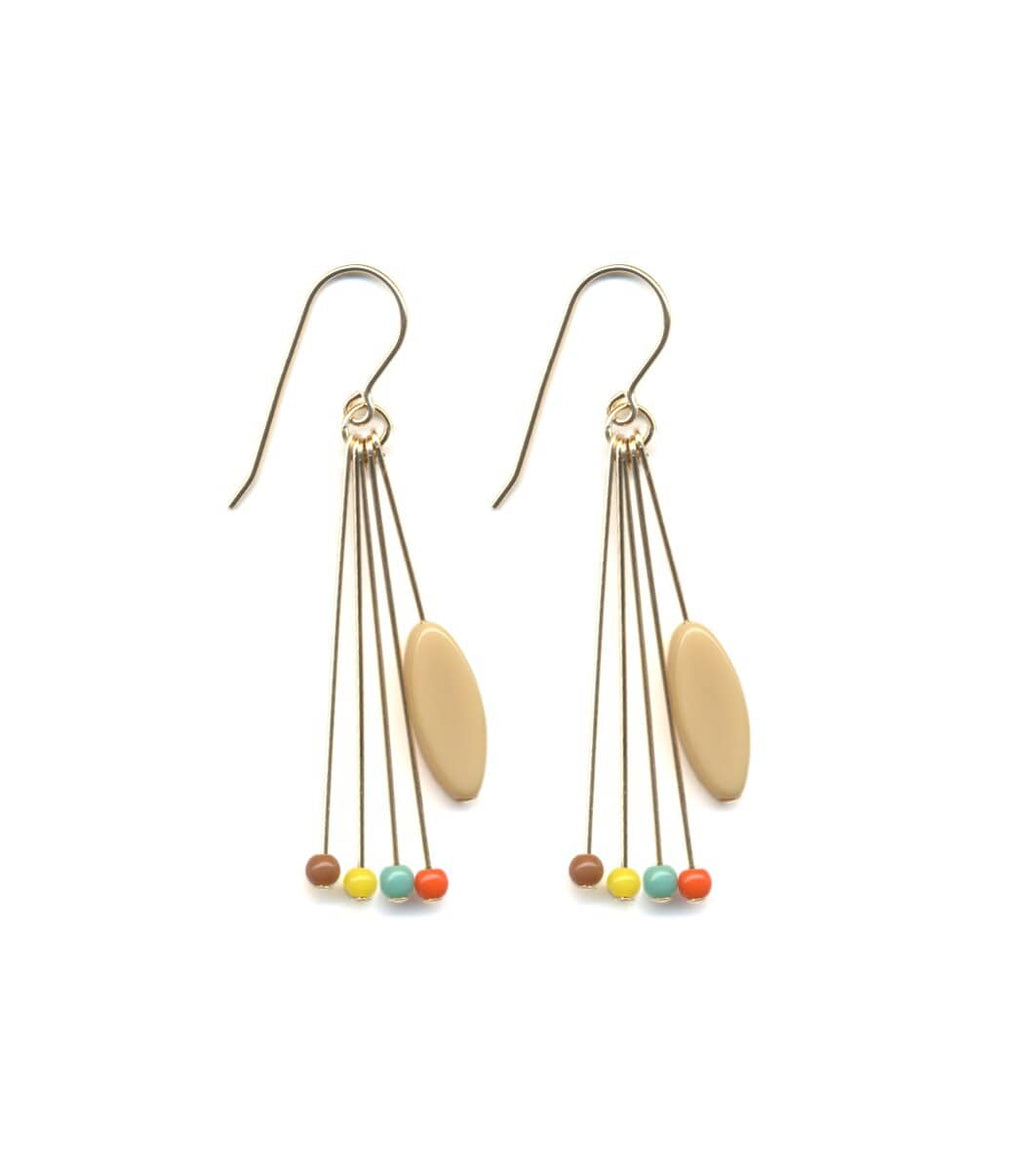 Irk Jewelry I. Ronni Kappos E1558 Party Fringe Earrings