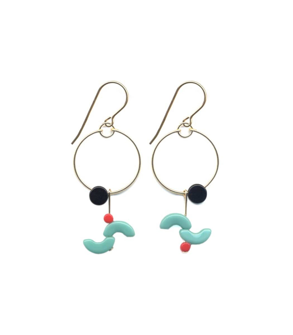 Irk Jewelry I. Ronni Kappos E1681 Sizzle Hoop Earrings