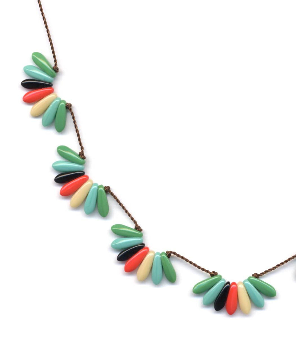 Irk Jewelry I. Ronni Kappos N1260 Multi Scallops Necklace