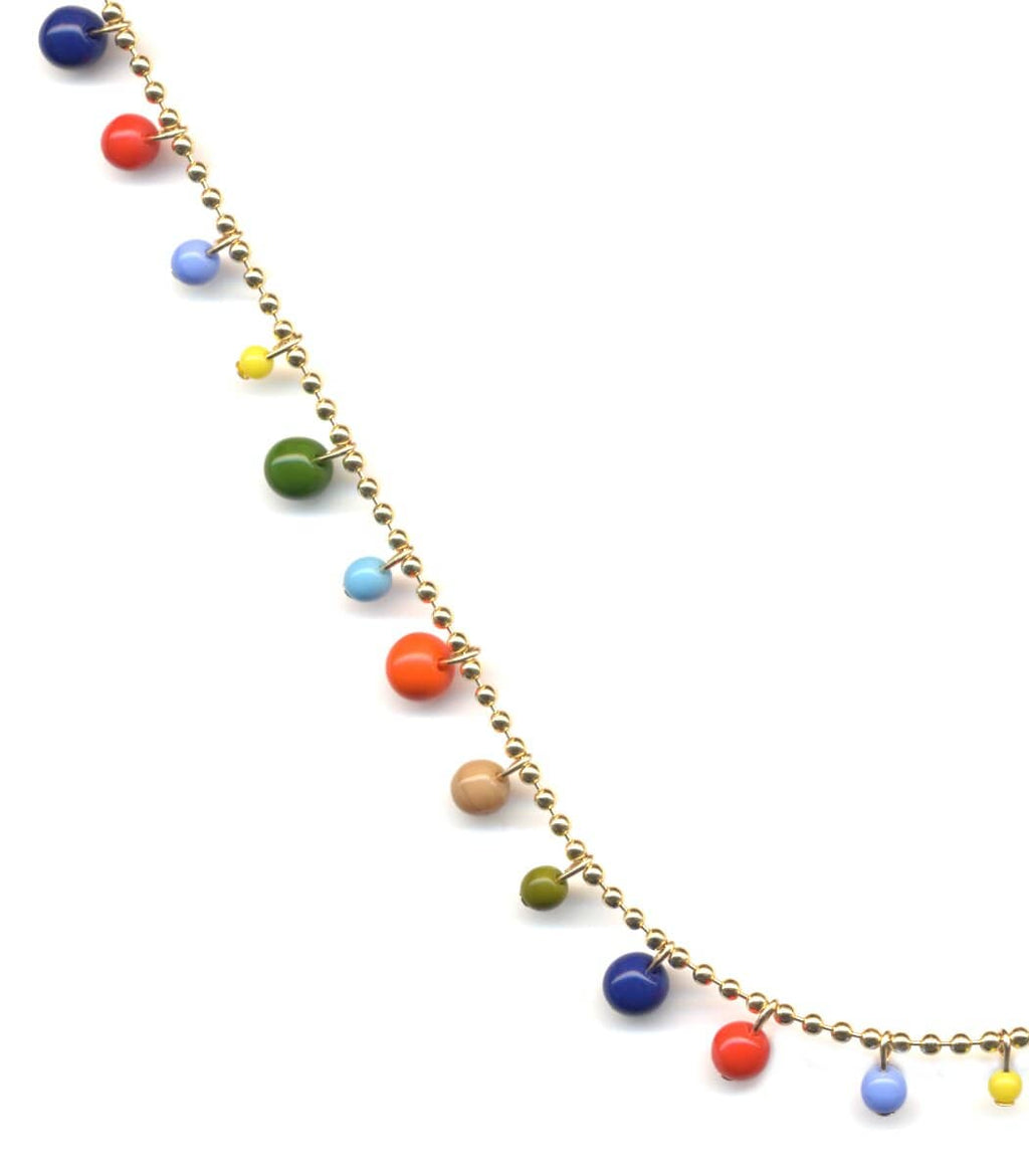 Irk Jewelry I. Ronni Kappos N1779 Garland Necklace