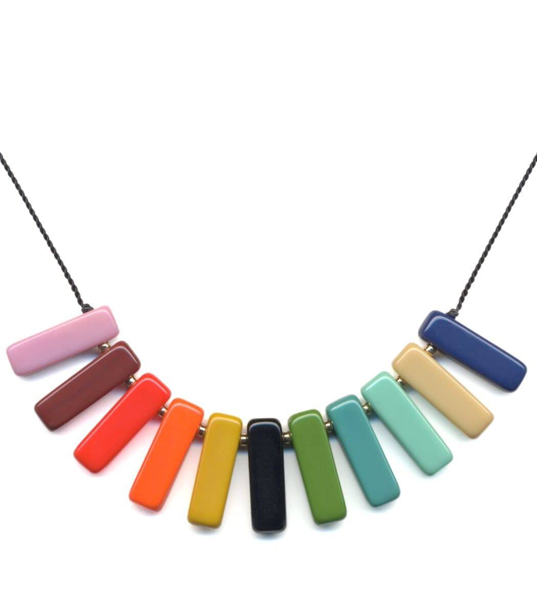 Irk Jewelry I. Ronni Kappos N1840 Spectrum Necklace