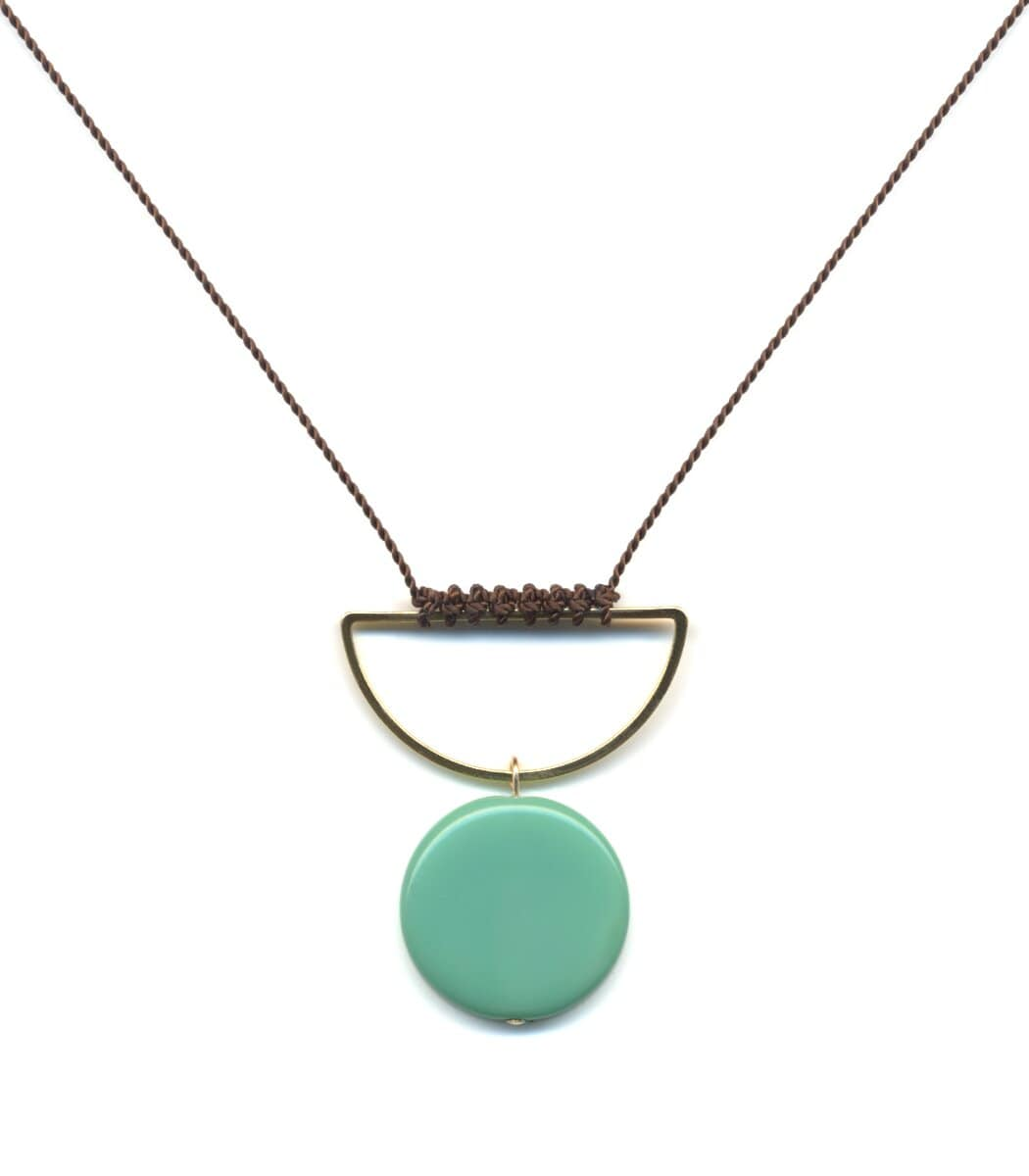 Irk Jewelry I. Ronni Kappos N1844 Water Bowl Necklace