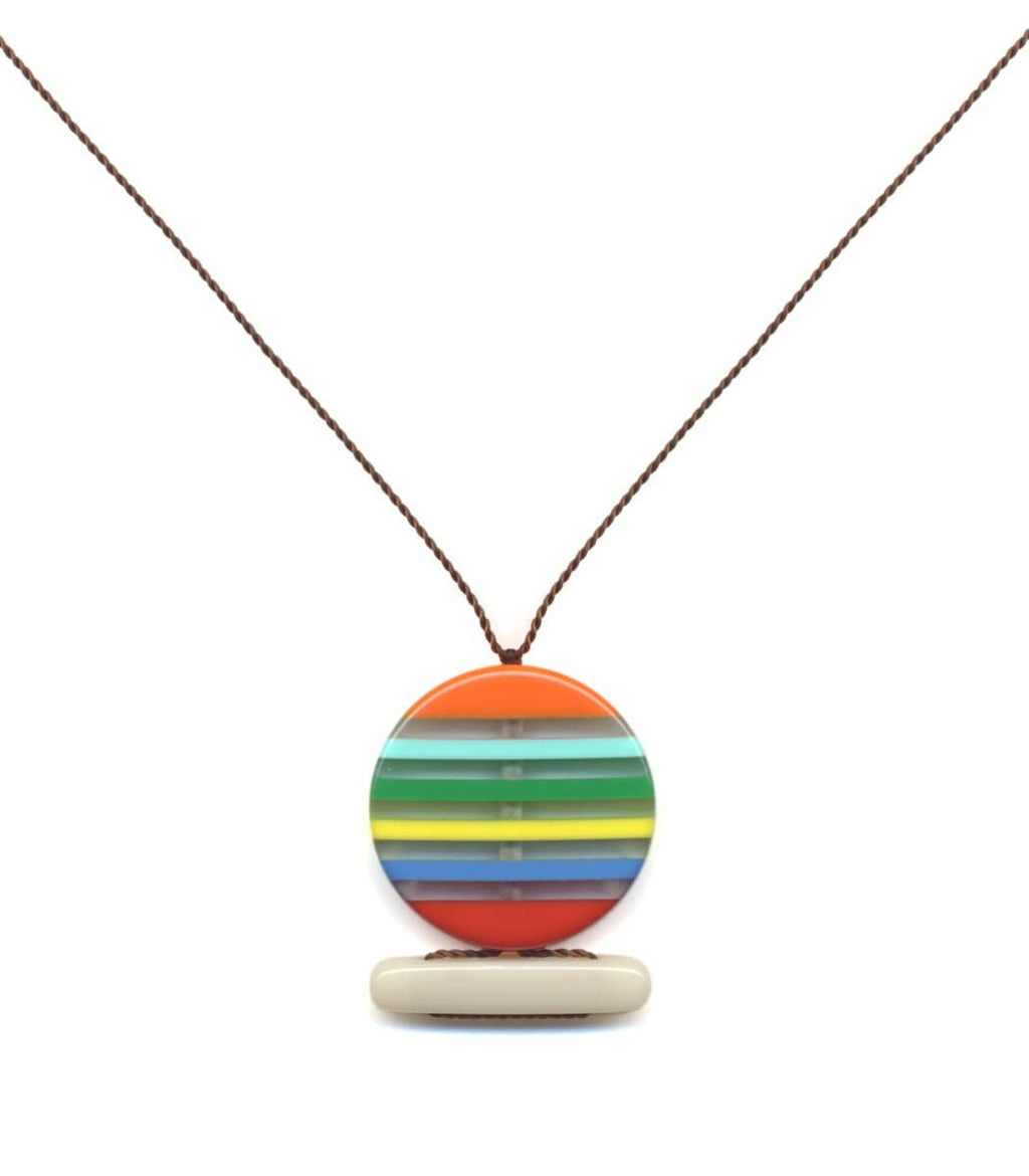 Irk Jewelry I. Ronni Kappos N1852 Sunset Pendant Necklace