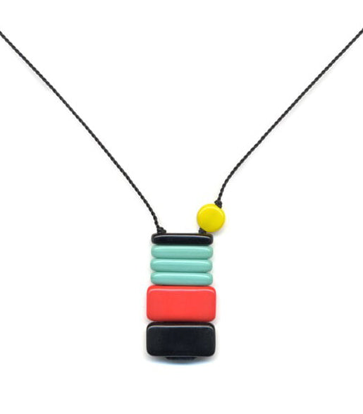 Irk Jewelry I. Ronni Kappos N1853 Kinder Stack Necklace