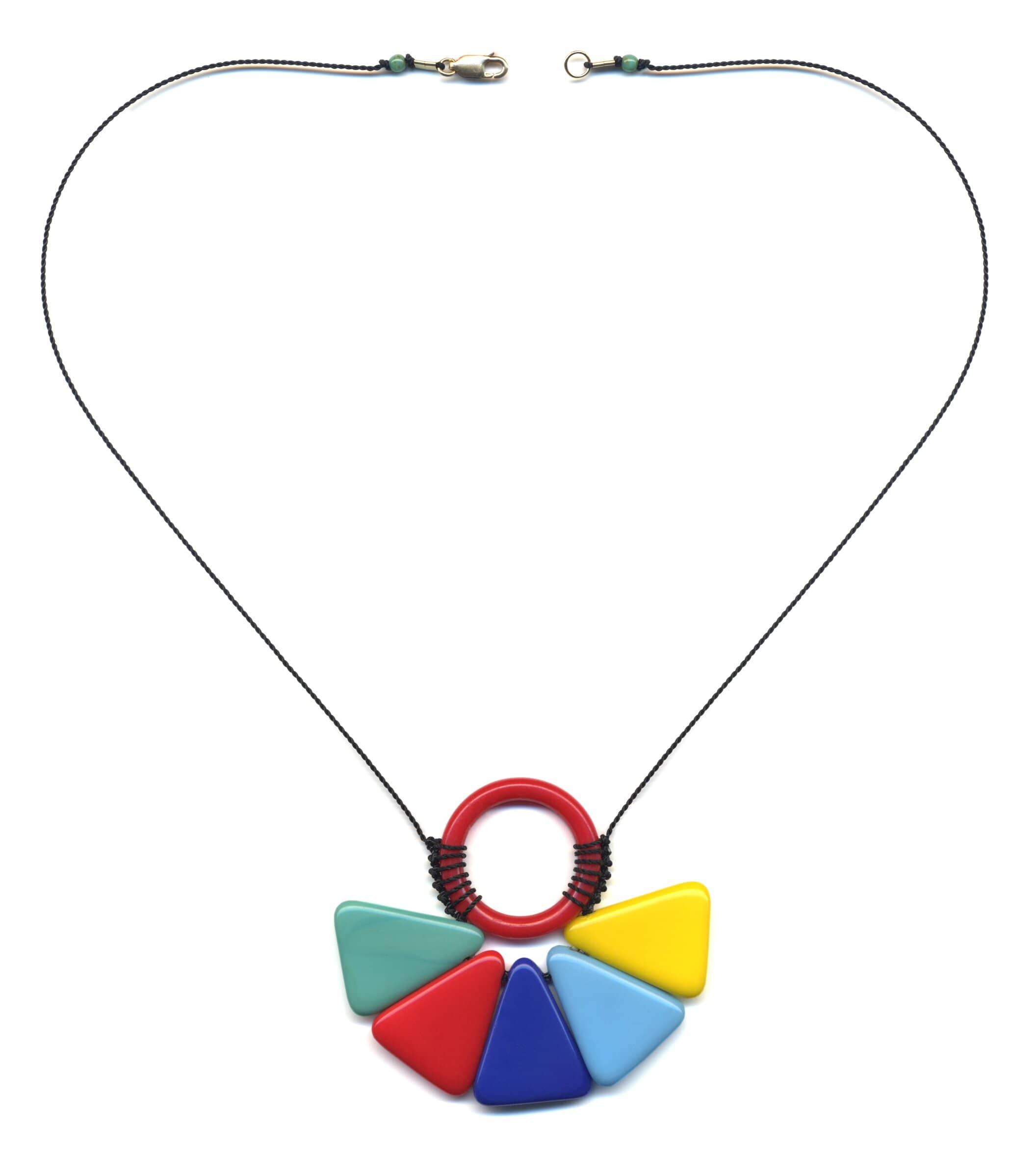 N1893 Color Wheel Necklace
