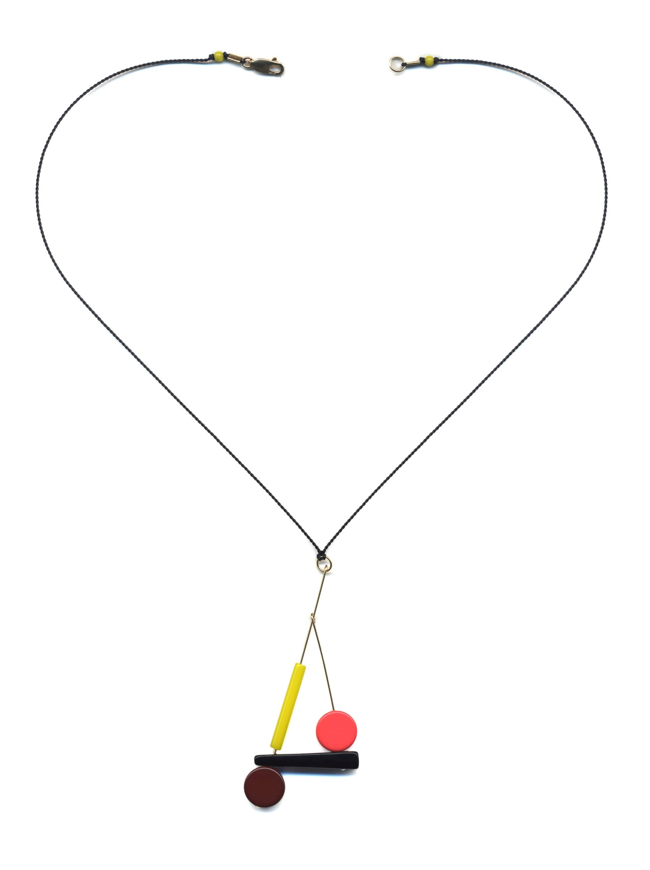 N1899 Kinetic Pendant Necklace