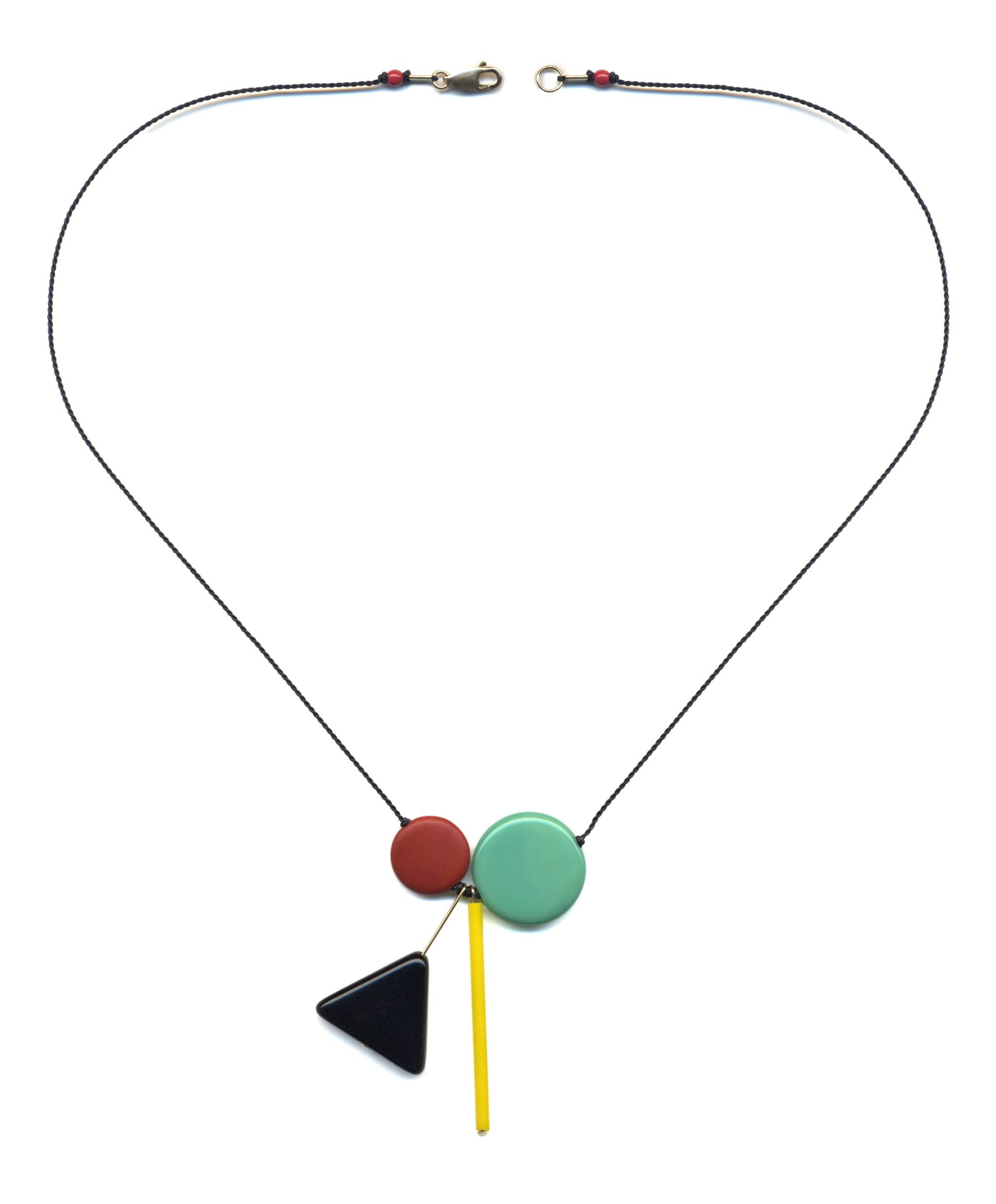 N1907 Modernist Pendant Necklace