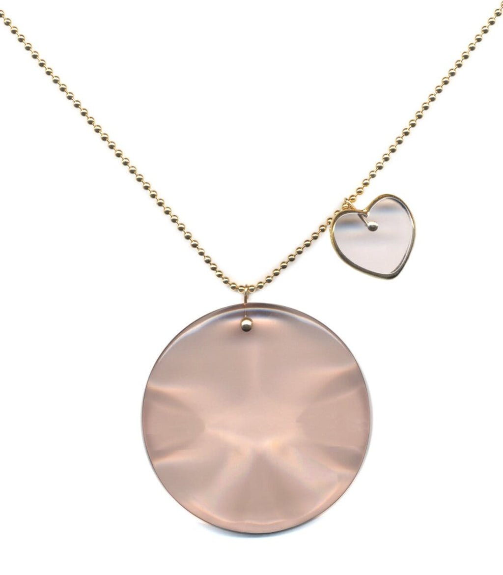 Irk Jewelry I. Ronni Kappos N1918 Blush Pendant Necklace
