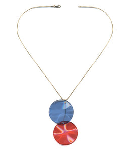 N1919 Overlap Pendant Necklace