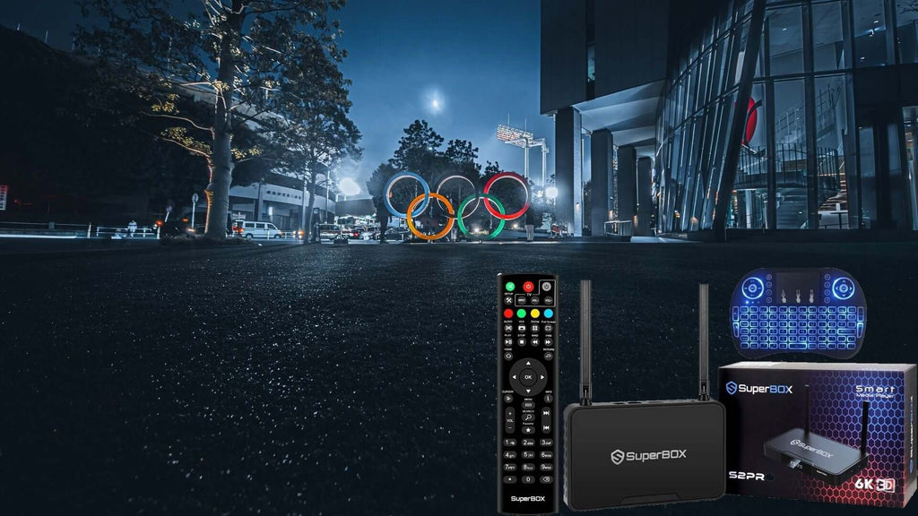 How to watch the 2020 Tokyo Olympic Games on Superbox S2 Pro?