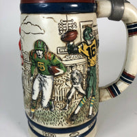1983 Handcrafted from Brazil Avon History of Football Beer Stein