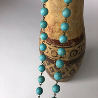 "Bohochic Beachy statement necklace  18.5"" long"