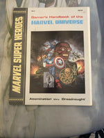 MU1 - Gamer's Handbook of the Marvel Universe: Abomination thru Dreadnought- 2nd