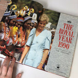 The Royal Year 1990 - many pictures of Princess Diana and her boys