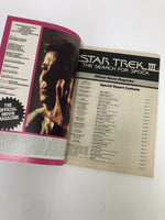 Star Trek III The Search For Spock Official Movie Magazine 1984