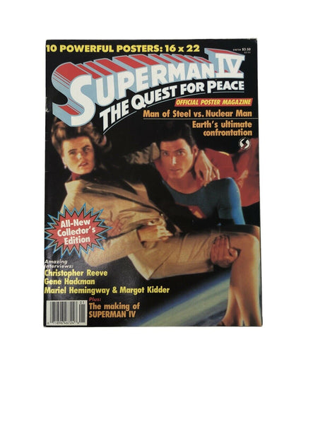 Superman IV Quest for Peace Official Poster Magazine 1987 (1)