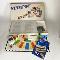1989 Stampin'  USPS branded board game complete