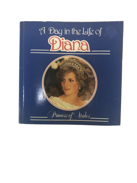 A Day in the Life of Diana Princess of Wales by Brenda R Lewis (1985) Photo Book