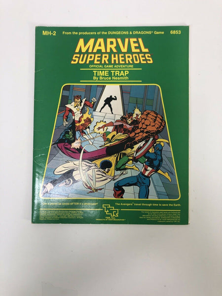 Time Trap - Marvel Super Heroes - Role Playing Game TSR MH-2 6853