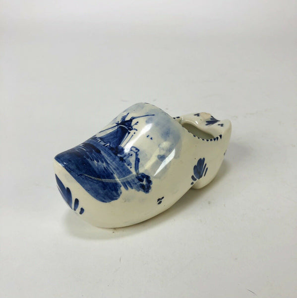 "Vintage Ceramic Dutch Shoe Ashtray 4"" X 2"""