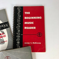 Lot If 3 - 1960s Music Learning Basics Books