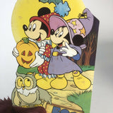 Vintage Disney Halloween honeycomb die cut