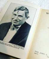 Vintage 1935 Book WILL ROGERS Ambassador of Good Will Prince of Wit and Wisdom