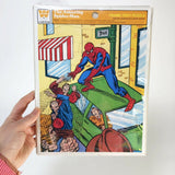 1976 Marvel Spider-Man Chipboard Puzzle