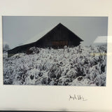 "Tobacco Barn Signed original photography  15.5"" x 12.5"""