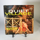 THE EXOTIC SOUNDS OF MARTIN DENNY QUIET VILLAGE 1959 STEREO LP EXOTICA CHEESECAK