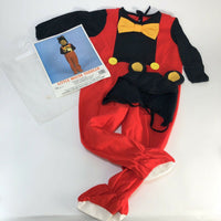 "Vintage ""Little Mouse Toddler"" Mickey mouse costume  Toddler 2-4"