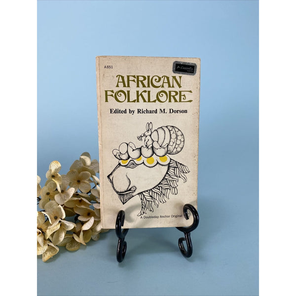 AFRICAN FOLKLORE by Editor Richard M. Dorson Softcover 587 Pages