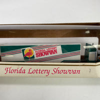 1994 Vintage Florida Lottery Truck Trailer Racing Champions Die Cast 1:87 Scale