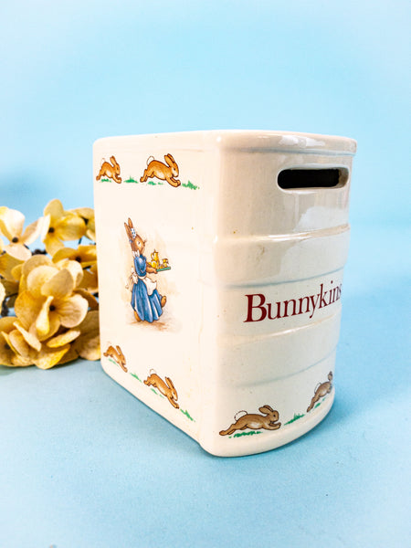 1936 Royal Doulton Bunnykins Ceramic Book Bank