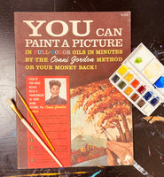 1960 You Can Paint A Picture by Conni Gordon - How-to Paint Book