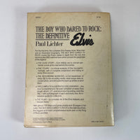 1978 The Boy Who Dared To Rock: The Definitive Elvis by- Paul Lichter Book