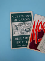 Lot of 5 - Vintage Sheet Music Books