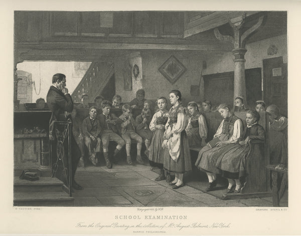 "1881 ""School Examination"" Reprint"