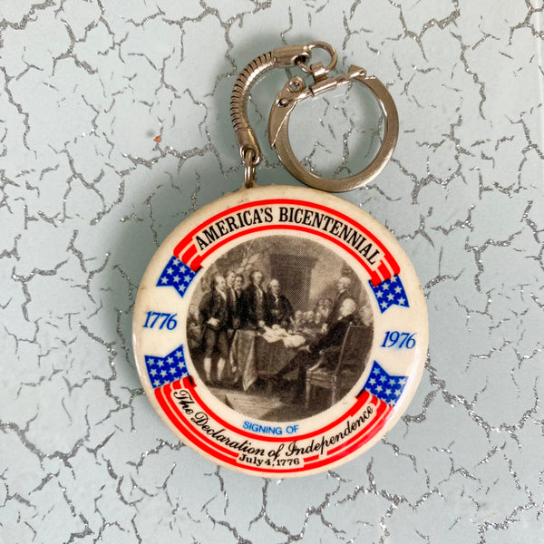 1976 American Bicentennial Commemorative Keychain