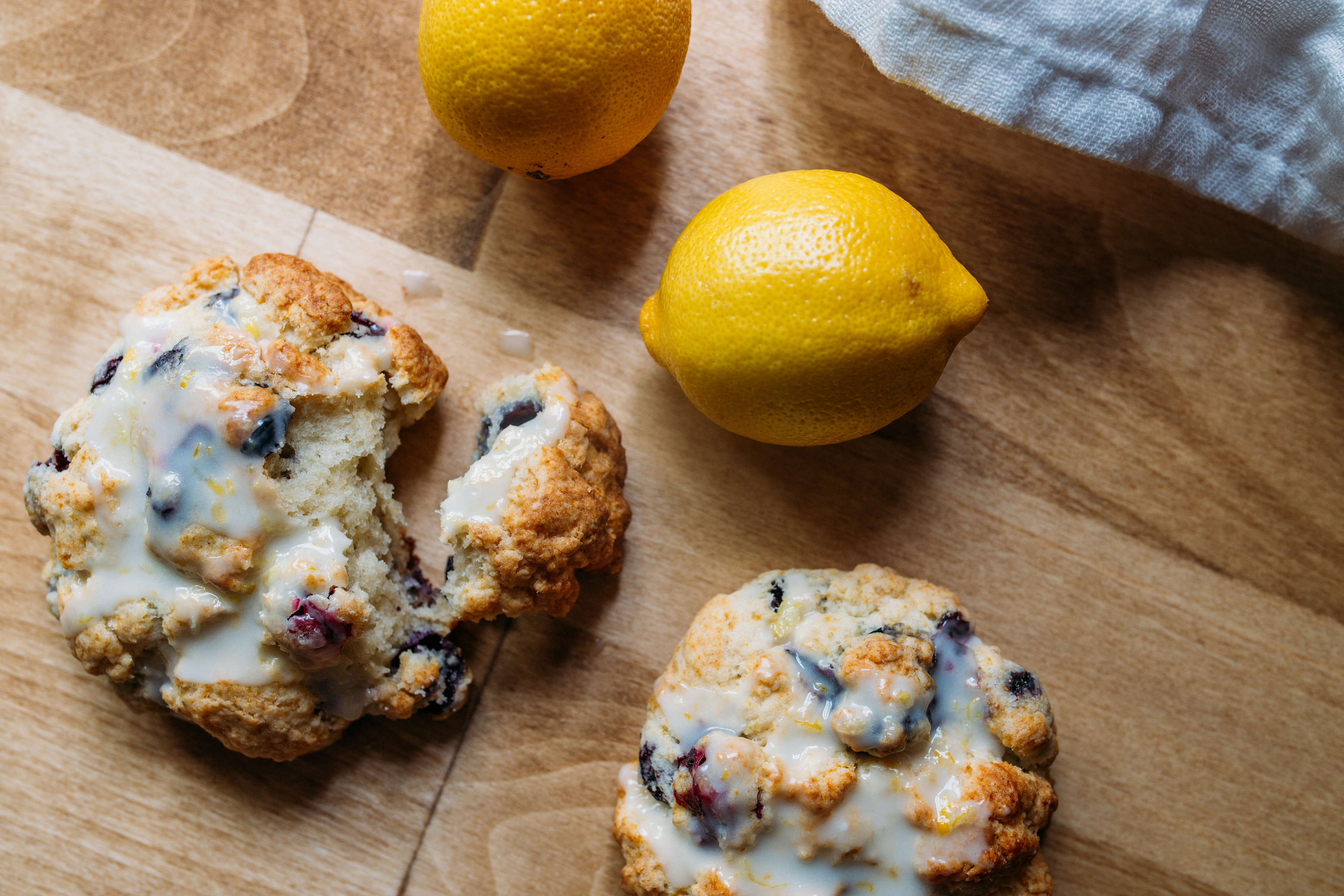 Blueberry muffin biscuits