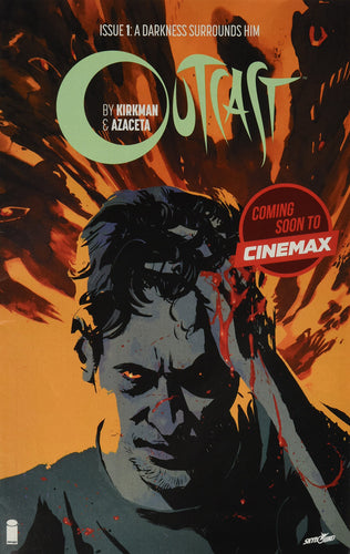 Outcast Issue 1: A Darkness Surrounds Him