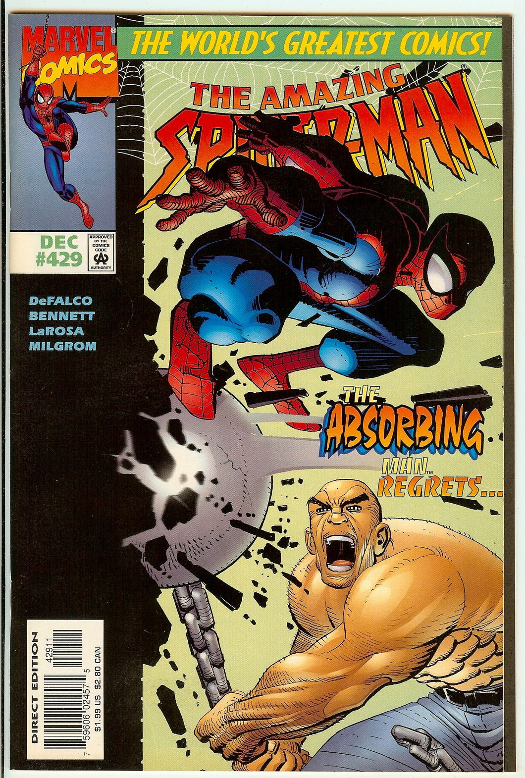 Amazing Spider-Man #429