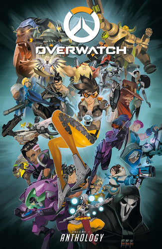 Overwatch Anthology Vol 1 (2019) Small damage on front hardcover