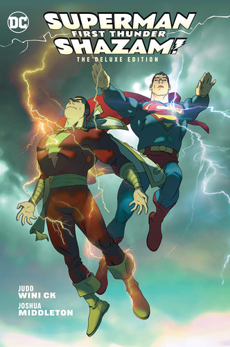 DC Superman/ Shazam! First Thunder. The Deluxe Edition (2018, Hardcover)
