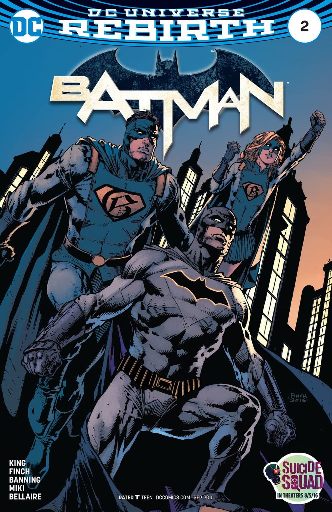 Batman#2 Vol.3  DC Universe Rebirth (2016)