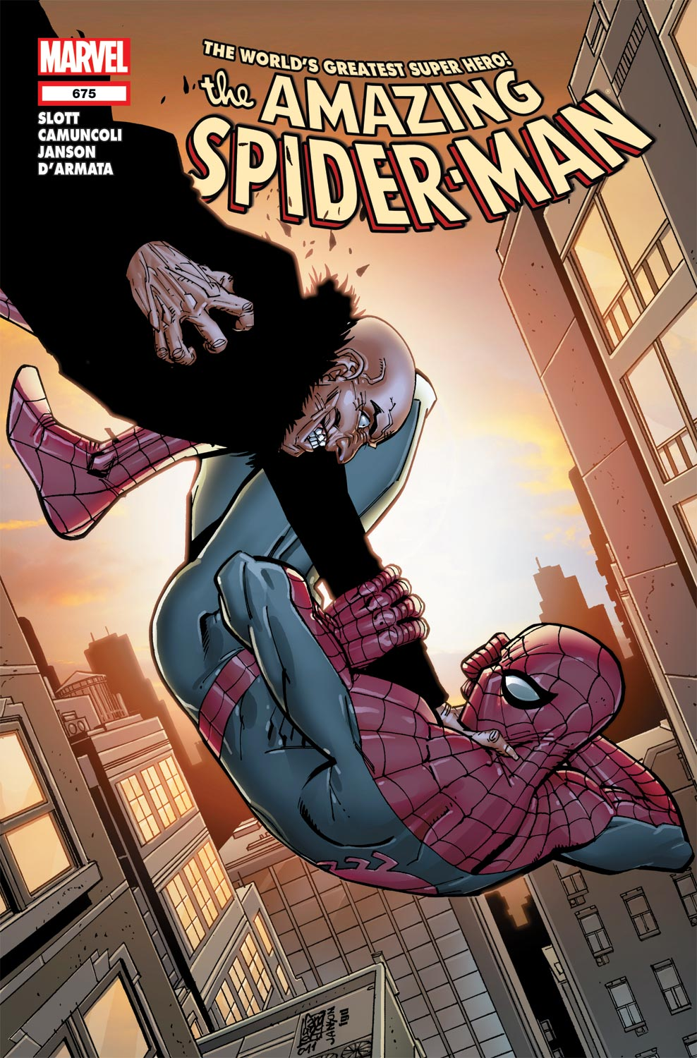 The Amazing Spider-Man #675